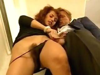 Simona Valli Playing With Beef Whistle