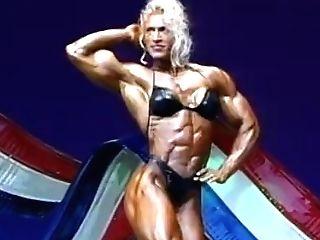 Kim Chizwsky Ms. Olympia 1996 Routine