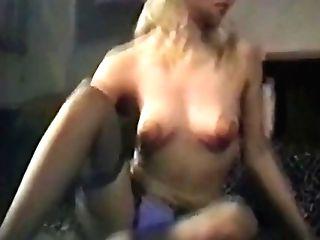 Angie - Antique Striptease Underwear Stockings Stilettos Nylons