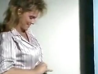 Old-school Buxom Pornography Queen Deep Throats Enormous Jizz-shotgun In The Douche Then Fucks