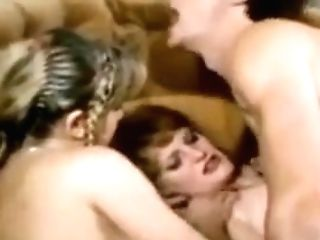 Retro Antique Lesbo Big Dick Cum-shot Threesome Tits