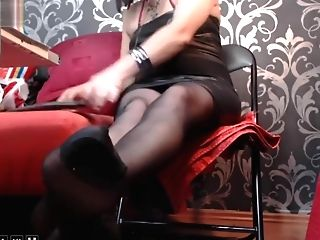 Matures Woman Nylon Stockings Feet