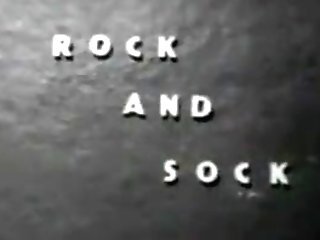 Antique Stripper Film - Rock And Sock