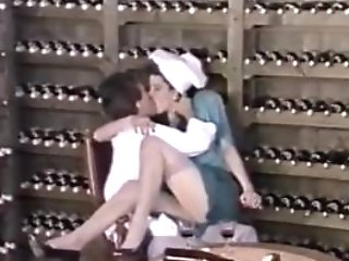 Tom Byron In The Winecellar