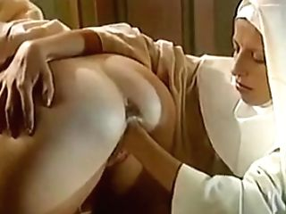 Old-school Sapphic Nuns - Superb Fist Insertion
