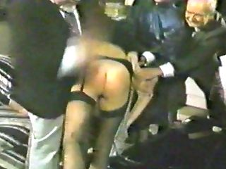 Brit Lady Traffic Cop At The Spanking Club