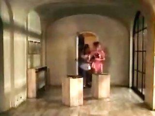 Cicciolina, Babe Pozzi, Gabriella Mirelba In Old School Fuck
