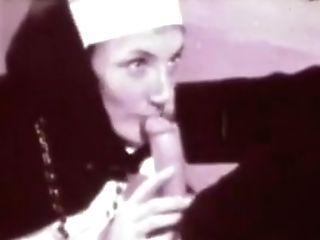 Flight Of The Nun's Tongue Around The Priest's Cock Head