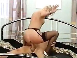 Brief Hair Blonde Working Lady