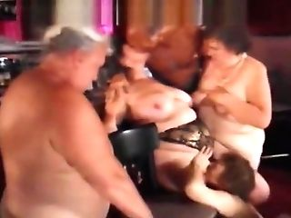 Older Swingers Group Bang-out