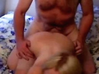 Real Antique Big-chested Stunner Fucked By Oldman