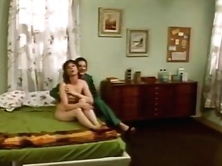 Incredible Facial Cumshot Old-school Scene With Peter Andrews And Jenny Baxter