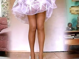 1950's Nylon Stockings Legshow