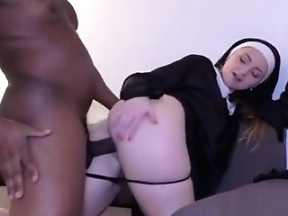 Nuns Take Big Black Cock