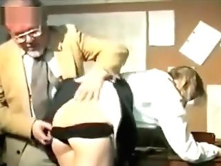 Two Crazy College Girls Spanked