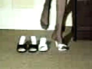 Wifey Spanks Hubby With Boot Koli