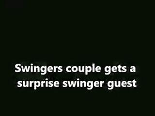 70's Swingers Couples Surprise