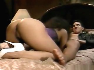 Greedy Dark-hued Takes A Big Milky Dick In All Her Fuck-holes - Cdi