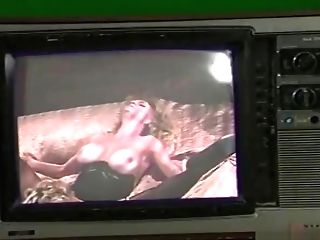 Chesty Blonde Classical Pornographic Stars In Lesbo Lovemaking