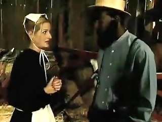 Antique Interracial Fuck In A Shed