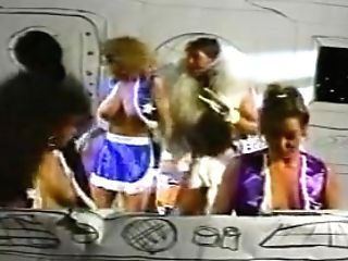 Bimbo Cheerleaders From Outer Space