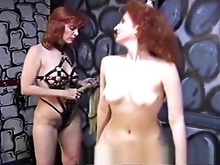 Rough Domina Has Her Joy With A Skinny Pallid Submissive Dame