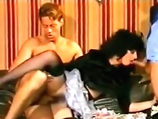 Anal Invasion Fever 1990 Lezzies , Rectal ,strap Dildo , Double Penetration, Stockings