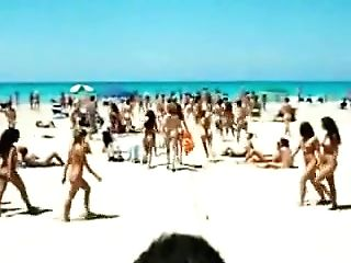 Exotic Unexperienced Beach, Outdoor Hump Scene