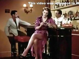 Antique French Burlesque - Ah Les Belles Baccantes 1954(excerpt Clip)
