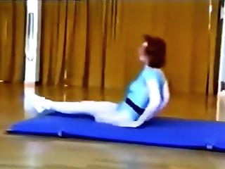 One Gam Amputee Gymnast