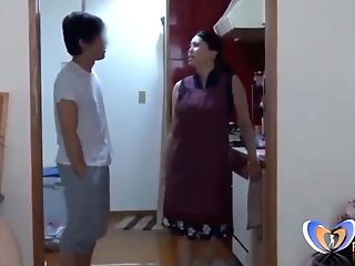 Japanese Housewife Cant Do Her Homework Vintagepornbay.com