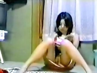Japanese Youthfull Super-cute Chick Onanism Hidden Web Cam