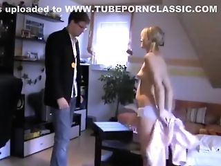 Patriarch's Matures Friend Visit. Youthfull Skinny 18yo Teenage Daughter-in-law Ass-fuck