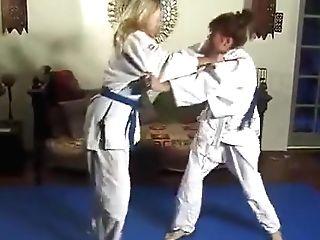 Women Judo Match
