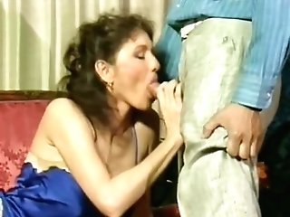 Crazy Old School Scene With Patricia Pasquale And Anne Karna