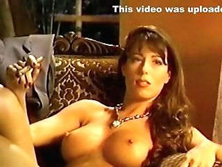 Fabulous Homemade Smoking, Big Tits Romp Flick