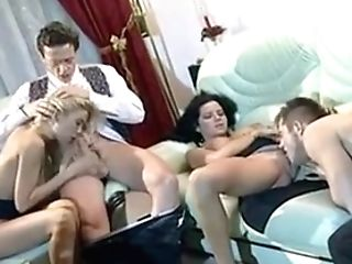 Hot Group Fuck Of Two Adorable Hungarian Stunners