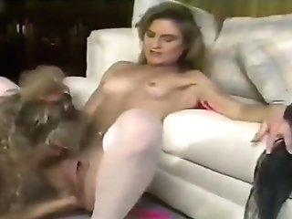 April Rayne And Unknown Pretty Blonde Lezzies