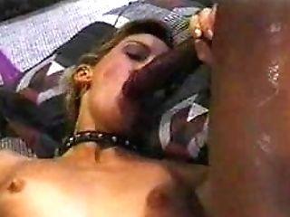 Milky Romp Slavegirl For Two Big Black Cock