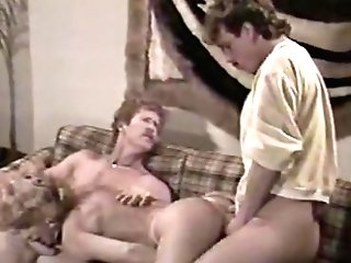 Amazing Facial Cumshot Antique Clip With Tom Byron And Hershel Savage