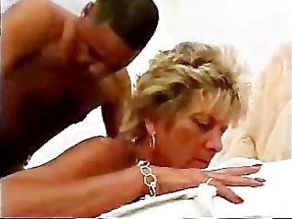Sexy mature banging BIG BLACK COCK