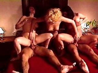 Antique group orgy with glad ending