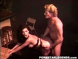 Dark haired pornography tramp fucked at the bar