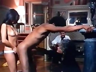 Horny Buttfuck Retro Clip With Jamie Mclane And Jim Dark-skinned