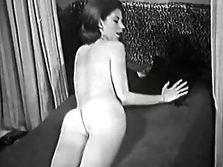 Fabulous Fledgling Retro, Solo Damsel Pornography Clip