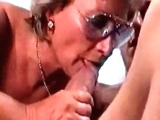German Granny Fucks And Fellates Her Boy