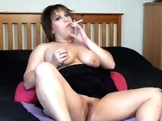 Smoking Alhana - Outside Bra-less Dangles - Bonus Inwards Nude Intro Have Fun