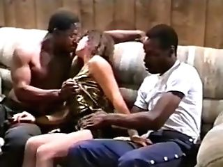 Horny First-timer Mummies, Interracial Lovemaking Clip