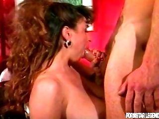 Christy Canyon gets a hard big manhood fucking