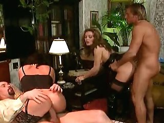 Antique french group orgy